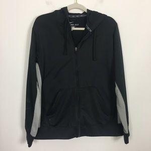 Nike Black Therma-Fit Zip Up Sweatshirt
